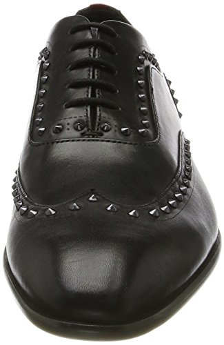 HUGO Herren Appeal_oxfr_ltst Oxfords Schwarz (Black)