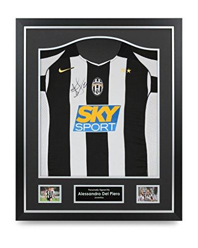 Alessandro-Del-Piero-Signed-Shirt-Framed-Autograph-Juventus-Jersey-Memorabilia