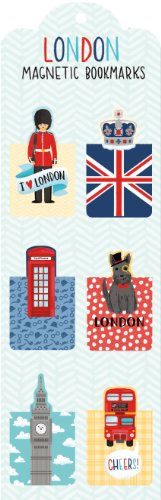 London: Magnetic Bookmarks