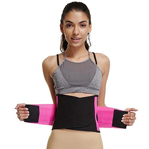 Joyshaper Cinturón Reductor Abdominal para Mujer para Adelgazar Moldeador de  Cintura Adelgazante Faja Entrenador Soporte de 0d1de1d08f3e