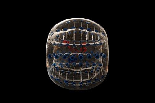 Bubble Fußball Bälle Dia 5 '(1,5 m) Bubble Fussball,Bubble Soccer,Bumper Bälle,Loopyball,Zorb Ball,Luft gefüllten Bälle (Blau Punkt) - 4