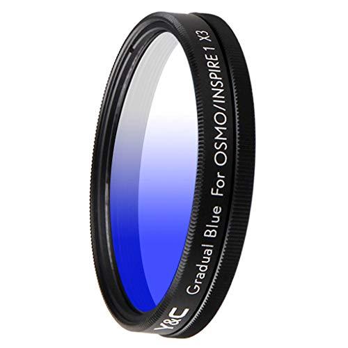 perfk Verlaufsfilter für DJI OSMO/Inspire 1 X3, 43mm - Blau