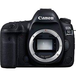 Canon Mark IV Full Frame Digital SLR Camera, 6 cm, Noir (Black)