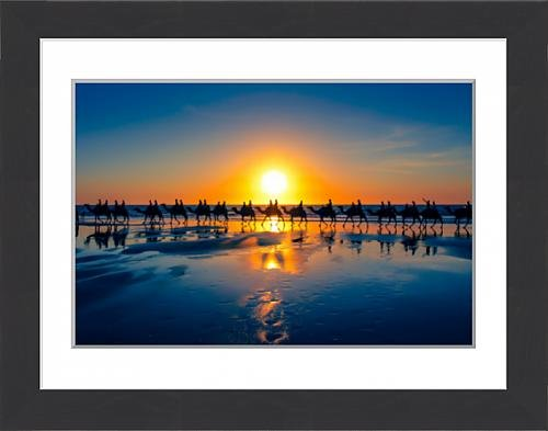 framed-print-of-the-famous-camel-train-cable-beach-western-australia