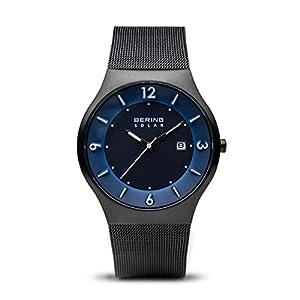 BERING Herren-Armbanduhr Analog Solar Edelstahl 14440-227