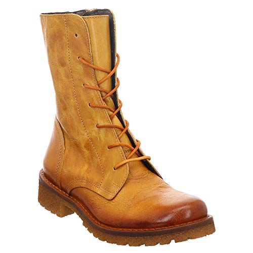 Lazamani | Stiefel ungefüttert | Boots- gelb | Mostaza, Farbe:gelb, Größe:39