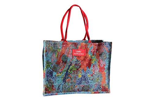 Borsa mare Gian Marco Venturi donna moda mare l.mosaica 44331 rosso