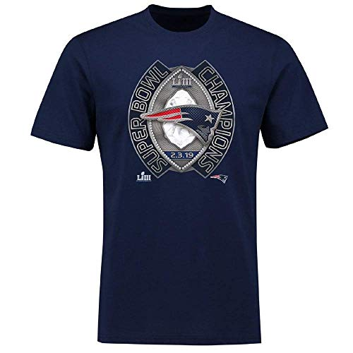 land Patriots Super Bowl LIII Champs Ring Winners T-Shirt X Large ()