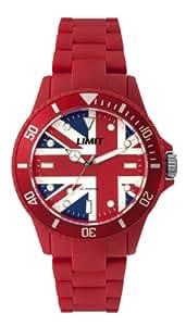 Limit - 6880.05 - Montre Mixte - Quartz Analogique - Bracelet Plastique Rouge