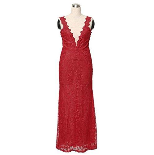 csdm-il-retro-vestito-dal-merletto-di-modo-del-vestito-dal-v-collo-delle-nuove-donne-red-l
