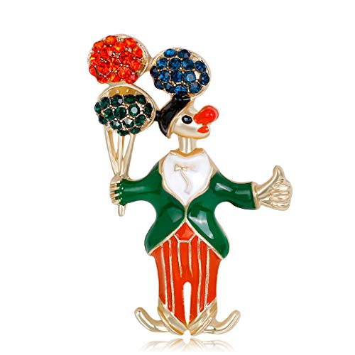 sche Pins Clown Ballon Ornament Winter Kreative Schmuck Frauen Geschenke ()