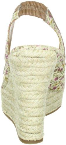 Via Uno Textil Synthetic Zebra Padova 21173601, Sandales femme TR-B1-Marron-331