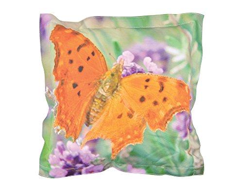Fallen Fruits Petit Coussin d'extérieur Motif Papillon