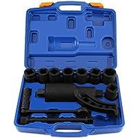 Heavy Duty Multiplicador Llave de Tuercas de Rueda Removedor de Lugnuts Ahorro de Trabajo con 8 Socket (64:1)