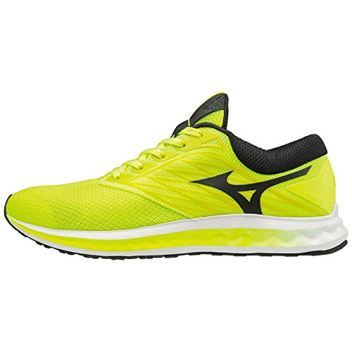 Mizuno shoe wave polaris scarpa running uomo taglie : 43 colore : safetyyellow/black/white 02
