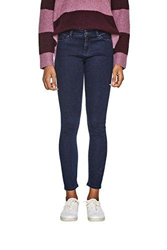 ESPRIT Damen Skinny Jeans 107EE1B008, Blau (Blue Rinse 900), W32/L32