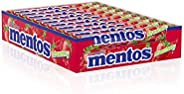 Mentos Candy Strawberry, 14 Pieces - 20 Rolls