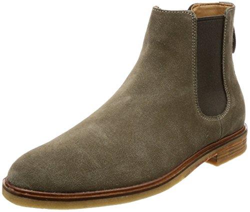 Clarks Men's Clarkdale Gobi Chelsea Boots, Green (Olive Suede), 9 9 UK