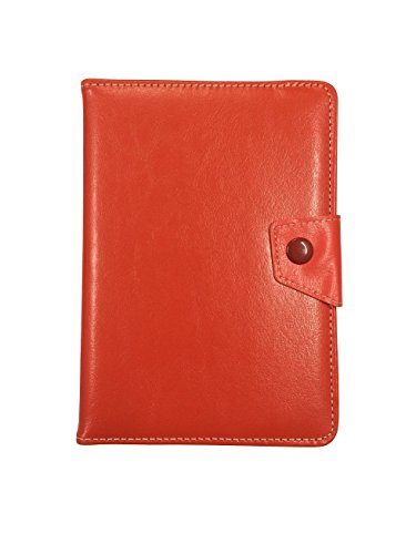 Shopaholic Red Universal 7 inch Tablet Flip Folio Case Cover for Samsung Apple Micromax etc.
