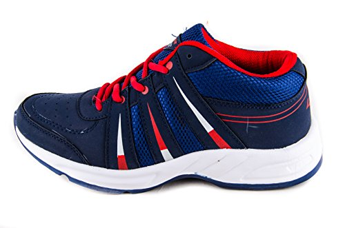 Navy Blue Sports Running Shoes Indus