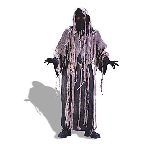 Adult Light Up Gauze Zombie Fancy dress costume Standard