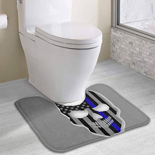 lice Flag Schädel Rutschfeste Kontur Badematte für WC, saugfähiges Wasser Perfekt für Badezimmer. Kaufen Sie online Badematten zu den besten Preisen ()