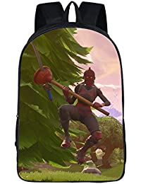 Preisvergleich für HOOMOLO Unisex Fortnite Spiel Drucken Schulrucksack Lässige Sport Outdoor Kinderrucksäcke Rucksack für Kinder...