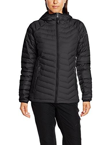 Columbia Damen Powder Lite Hooded Jacket, Black, XL, WK1499