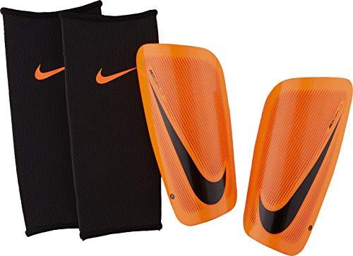 Nike Herren Mercurial Lite Schienbeinschoner, Total Orange/Hyper C)rimson/Black, Gr. S