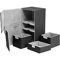 Ultimate Guard Twin Flip´n´Tray Deck Case 200+ Caja de Cartas Tamaño Estándar XenoSkin Negro