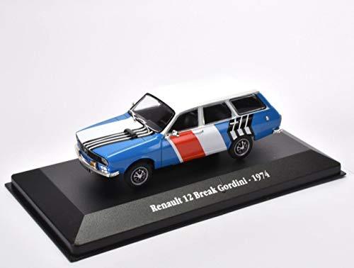 OPO 10 - Atlas Collection 1/43: Renault 12 Break Gordini - 1974 (G011)