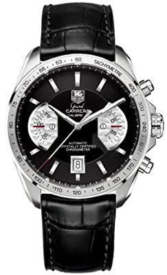 TAG Heuer CAV511A.FC6225 - Reloj de pulsera hombre, piel