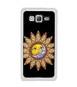 Fuson Designer Back Case Cover for Samsung Galaxy Grand 3 :: Samsung Galaxy Grand Max G720F (suraj chand chanda mama sunflower day night)
