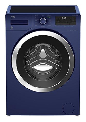 Beko WMY 71433 PTE Blue Waschmaschine / A+++ / 171 kWh / 1400 UpM / 7 kg / Watersafe / Pet Hair Removal /  Mengenautomatik / BabyProtect / Multifunktionsdisplay / XL-Chromtür mit 34 cm Einfüllöffnung / 15 Programme / Aquafusion - optimale Ausnutzung des Waschmittels / Automatische Unwuchtkontrolle / blau
