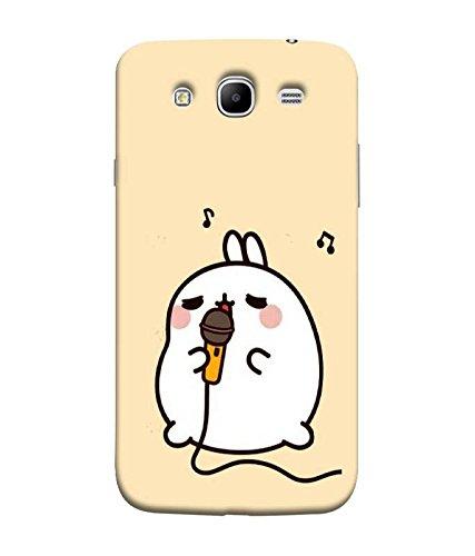 Fuson Designer Back Case Cover for Samsung Galaxy Mega 5.8 I9150 :: Samsung Galaxy Mega Duos 5.8 I9152 (Mike Rabbit Singing karaoke Music)  available at amazon for Rs.327