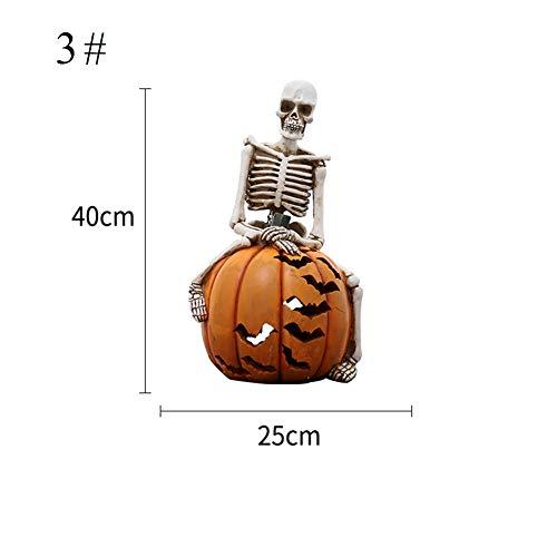 - Spooky Kürbis Hängende Dekoration