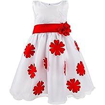 Katara 1730Niños de alta calidad fijo vestido para niña para feierliche Ocasiones Especiales como Comunión, Bautizo, Iglesia, boda