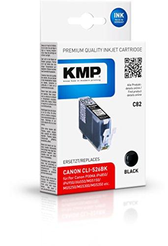 KMP Tintenkartusche für Canon PIXMA MG8150 , C82, black dye