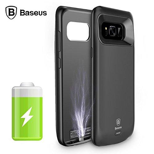 [Original Baseus] Baseus[Certified] Charger Case[Ultra Thin] For [Samsung] Galaxy S8 5000 mAh Power Bank Case Ultra Slim External Pack Backup Battery Case Cover For Samsung Galaxy S8