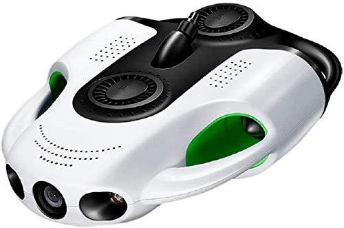 sous-Marin Drone sous-Marin BW Space Pro par Youcan Robot Directions de Mouvement avec caméra 4K Zoom 100m330ft Câble 66GB Enregistrement vidéo Pêche Photo