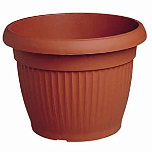 ARCA Spa Vaso Similcotto in plastica, colore terracotta, diametro 20cm