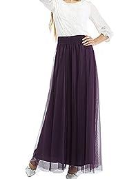 Mädchen Damen Rock kurz Sommer Chiffonrock mit Gürtel Faltenröcke Minikleid  Tüllrock Kurz Skirt ... e074788278