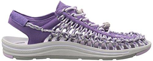 Keen Uneek W, Sandales Plateforme Femme Purple Heart/Lavender Fog