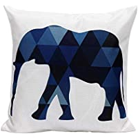 DIPOLA Funda de Almohada Sofá Cintura Throw Cushion Cover Decoración (No Hay Almohadas ...
