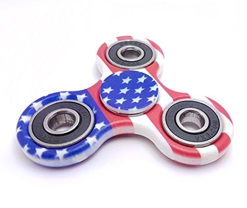 Preisvergleich Produktbild Handspinner - Keramik - Anti-Stress Fidget - für Kinder und Erwachsene (USA)