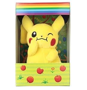 Pokemon Pikachu Munching Plush Soft Toy 6 inch high