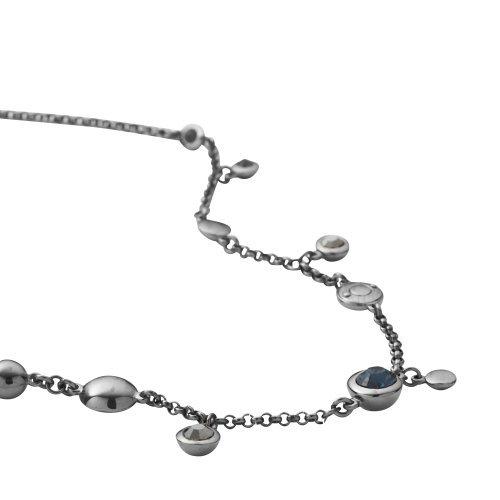 dkny-collier-poli-femme-avec-cristaux-swarovski-montana-et-indigo-noir-41-cm-extension-de-5-cm
