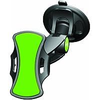 Clingo Supporto Universale a Ventosa da Auto per Telefono Cellulare, Nero/Verde