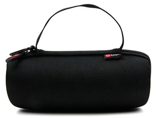 DURAGADGET PASSGENAUE Hartschalentasche mit Henkel und Karabiner für JBL Charge 3 Special Edition | Charge 3 Wasserdichte Bluetooth Lautsprecher