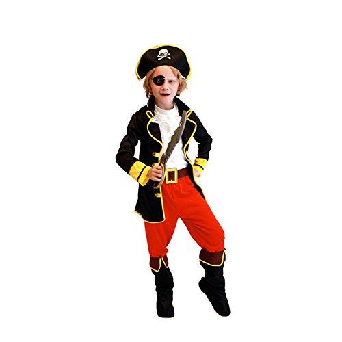 Labellevie Piraten-Kostüm für Jungen Halloween Kostüm (Kostüme Jungen Für Kinder Cosplay)